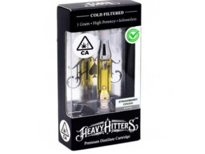 HEAVY HITTERS VAPE STRAWBERRY COUGH